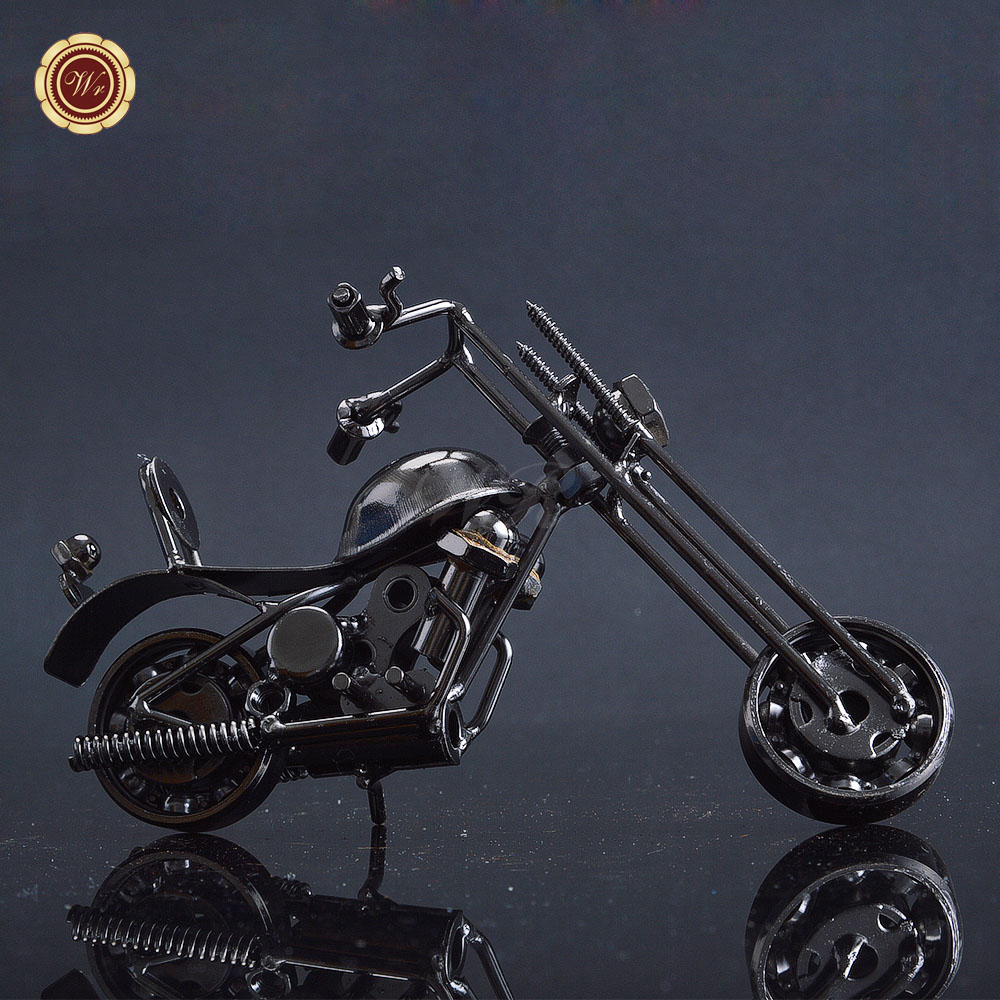 Easy Rider DIY Motorcycle Top Selling Products Rare Gifts Iron Mini Motorbike Craft for Kids and Adults