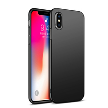 Ojeleye Plastic Case For iPhone X Case Ultra Thin Slim Back Cover For iPhone XS 6 6S Plus 7 8 Plus Cases PC Coque Phone Shell цена