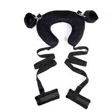 Bdsm Bondage Collar Hand Cuffs Flirt Sex Toys for Woman Fetish Lingerie Hot Restraints Sex Accessories