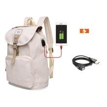 Korean Laptop backpack bag 13 13.3 14 inch Fashion casual canvas notebook back pack  bag for women Superior quality 2019 все цены