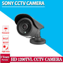 Top Quality ! HD 1.0 Megapixel Sony 1200TVL Outdoor Waterproof Video Surveillance Night Vision IR CCTV Camera Security kits