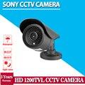 De Calidad superior! hd 1.0 megapíxeles sony 1200tvl impermeable al aire libre de vídeo nocturna de la vigilancia vision ir cctv kits de cámaras de seguridad
