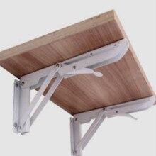 DIY steel stool chair bathroom bracket pipe shelf bracket lift table frame table stand tv rack tv folding furniture mechanism