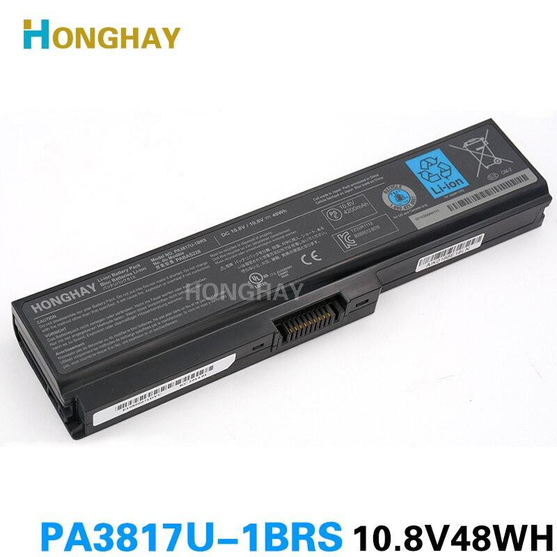 Honghay PABAS228 Batterie D'ordinateur Portable pour Toshiba L750 L700 C660 C660D L740 L770 L640 A600 L645 PA3817U-1BRS PA3817U PA3818U-1BRS