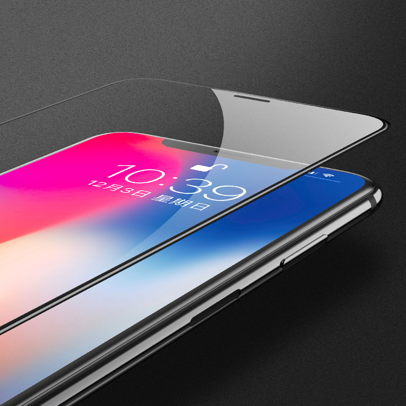 Full Tempered Glass for Apple iPhone X 8 7 6 S Plus Screen Protector for iPhone X 10 6s 7 Glass Toughened Protective Glass Film ...