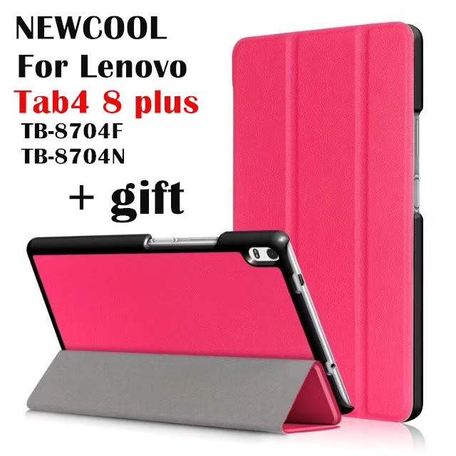 Tab 4 8 plus TB-8704X Flip Leather case smart Cover for Lenovo TAB4 8 plus TB-8704F TB-8704N tablet Case Protect shell ynmiwei for miix 320 leather case full body protect cover for lenovo ideapad miix 320 10 1 tablet pc keyboard cover case film