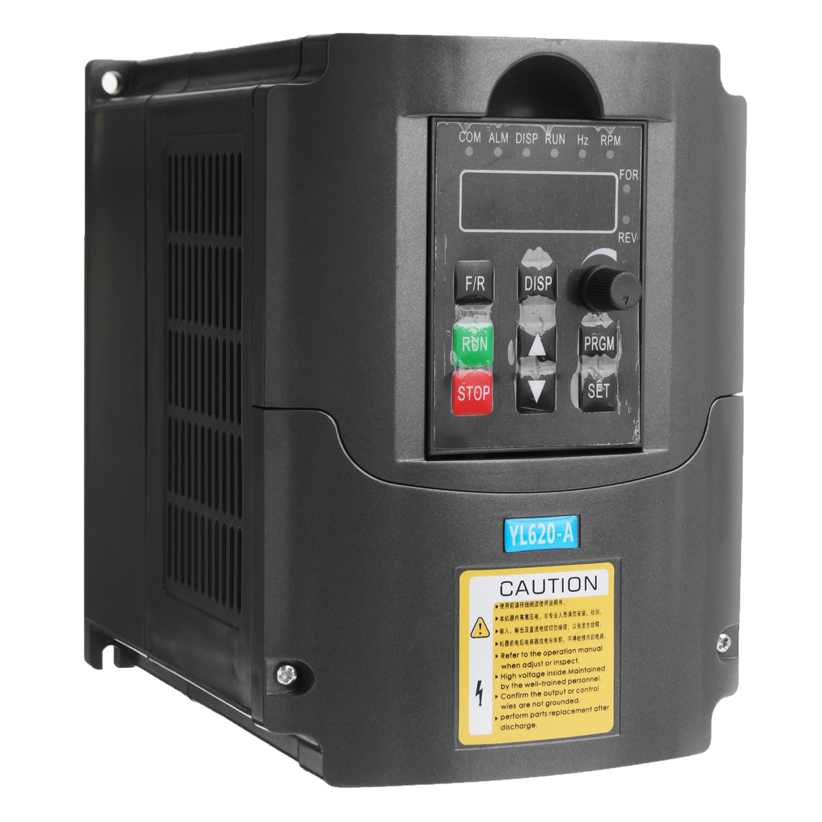AC Variable Frequency Inverter 0.75kw 220V Converter 3 Phase Output 50-60Hz Single Phase Input Space Voltage Vector Modulation
