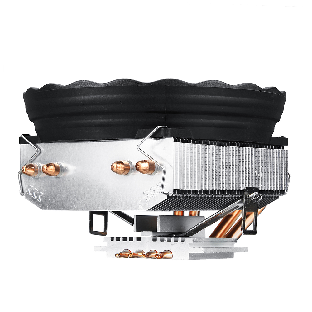 Image 3 - 4 Heatpipes 120mm CPU Cooler LED RGB Fan for Intel LGA 1155/1151/1150/1366 AMD 2019HOT Horizontal CPU Cooler-in Fans & Cooling from Computer & Office