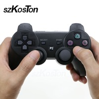Quality New 2 4GHz Wireless Bluetooth Game Controller 7 Color For Sony Playstation 3 PS3 Controle