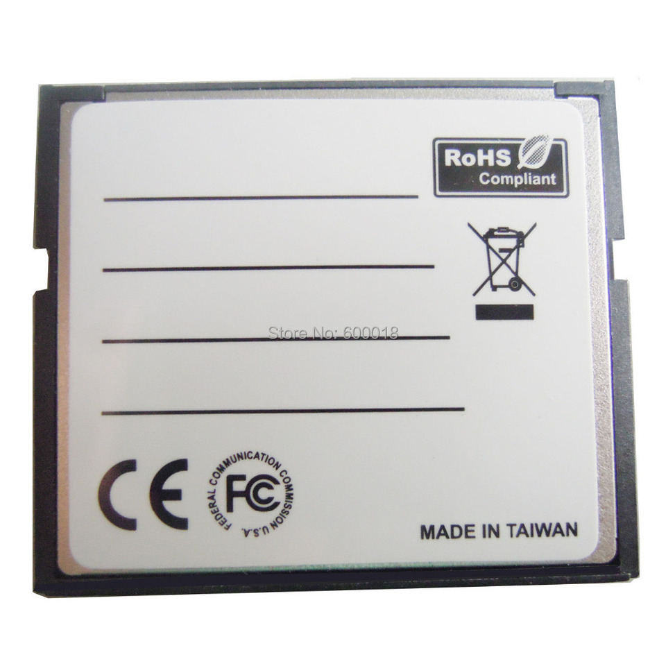 max Multicolor Plastic /& Metal 42x 35x 3mm 2x64G 2 Ports TF for SDHC to Type I 1 Compact Flash Card CF Reader Adapter