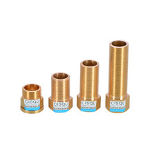6 minutes extended internal and external wire joints DN25 solar water heater boiler tube extension 3/4 plus copper