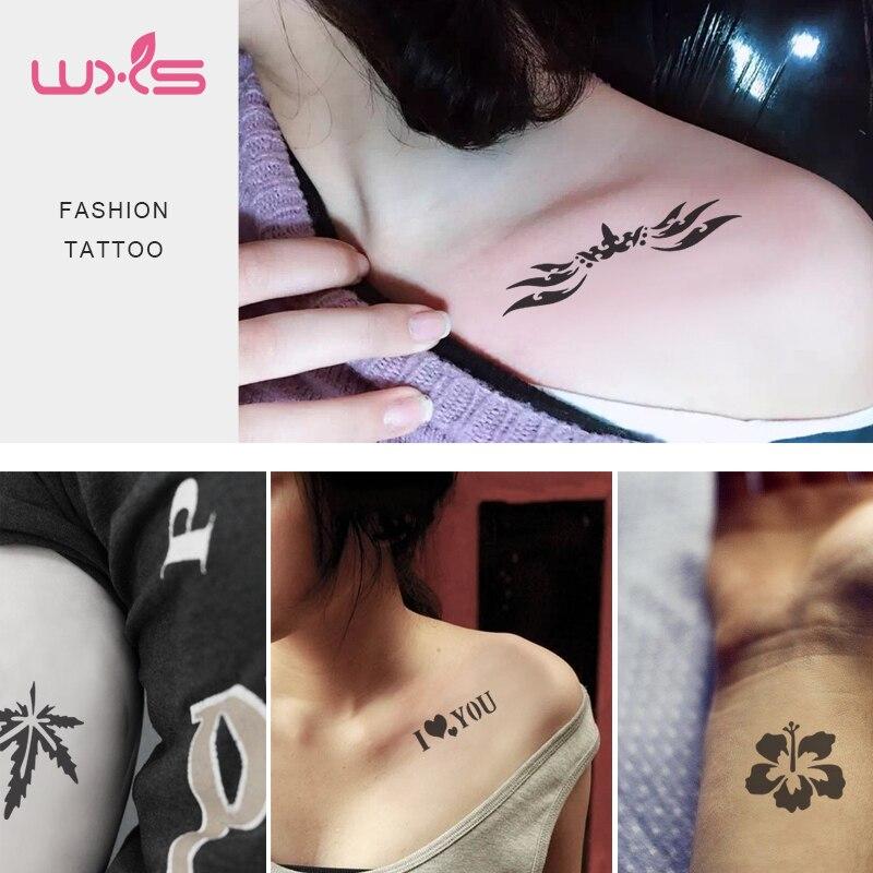 Henna Tattoo To Buy: Aliexpress.com : Buy 20pcs/lot Henna Tattoo Stencil