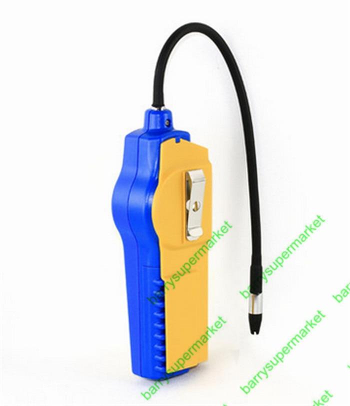 Halogen Gas Detector Alarm Freon CFC HFC HCFC Refrigerant Gas Leak Detector AICOOL Gas Analyzer R134a Refrigerant