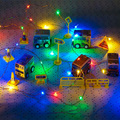 10M 33FT 100 led Decoration Fairy Lights batte Outdoor Led Copper Wire String Lights Or Christmas Festival Wedding Party Garland