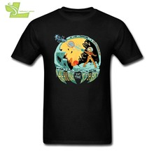 Super Metroid Funny Tee Shirts Adult Round Neck Short Sleeve T shirt Classic Interesting T Shirt Designs(China)