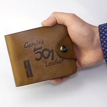 Baellerry Hollow Out Men Leather Wallets Money Bag Short Mal