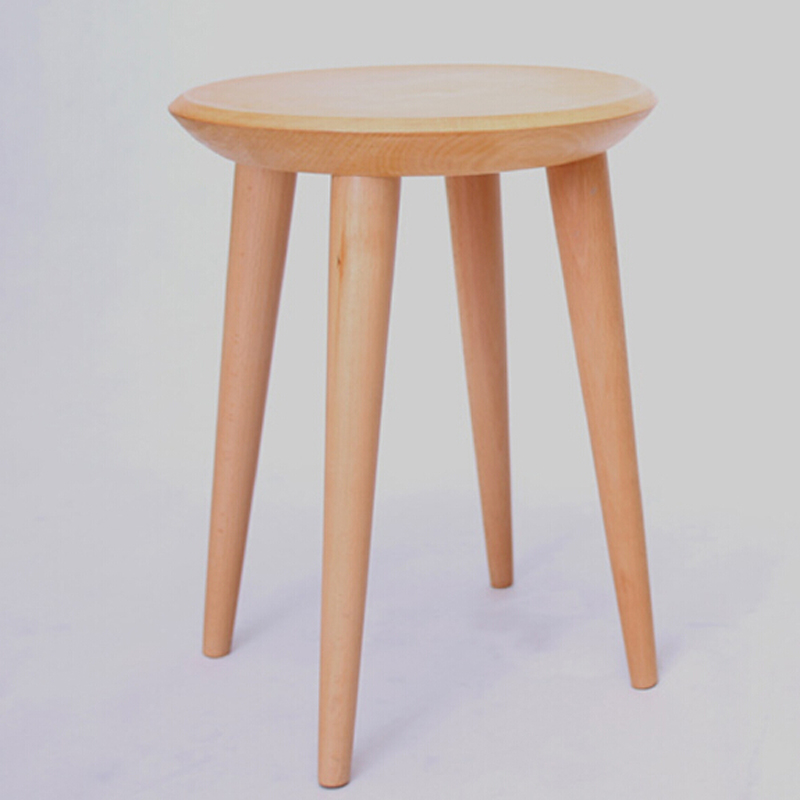 4 pieces for a lot beech wood stools in stools ottomans for Furniture 4 a lot less