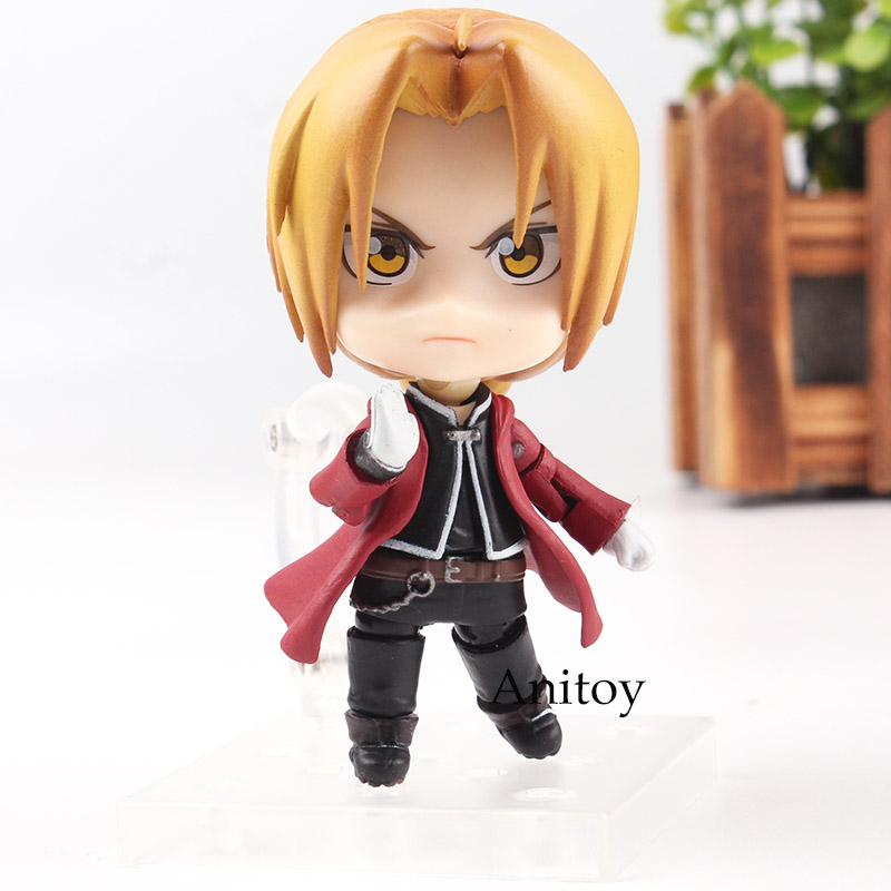 Goodsmile Nendoroid 788 Fullmetal Alchemist Edward Elric Anime Edward Elric PVC Action Figure Collectible Model Toy 1