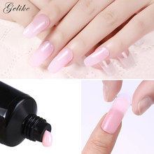 Gelike UV Gel Glass Hard Jelly Quick Building Poly Nail Extension Acrylic Art Crystal Builder  60g