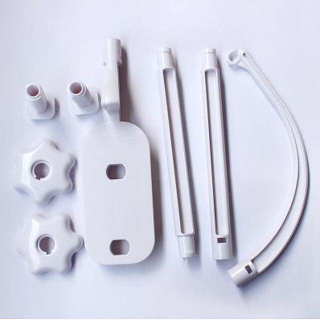 White Eco-friendly Baby Crib Mobile Bed Bell Holder Arm Bracket Set -BYC098 PT30