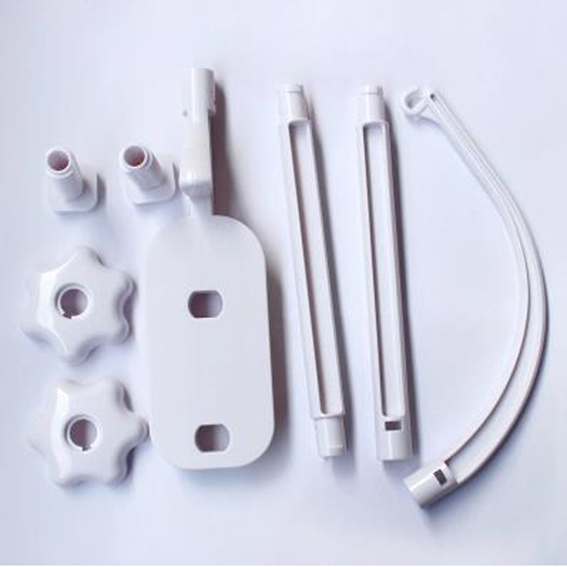 White Eco-friendly Baby Crib Mobile Bed Bell Holder Arm Bracket Set WJ331
