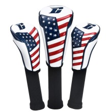 2018 CHAMPKEY GOLF HEAD COVER Woods1# #3 #5 Clubs Headcovers 3 PCS/LOT