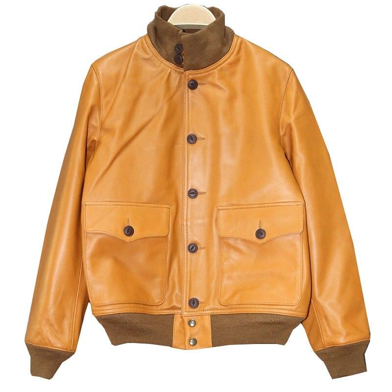 DHL Livraison gratuite. style classique hommes en cuir veste, peau de vache cru Veste, homme A1 Gravé qualité manteau. ventes. Marque