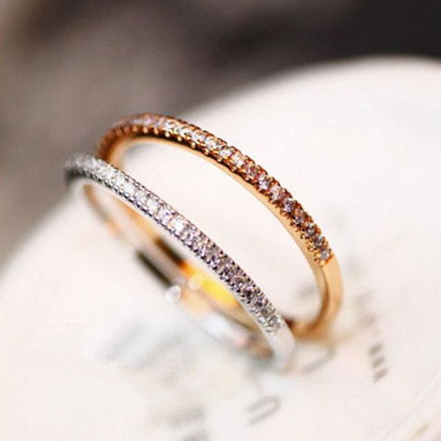 ... Ring girl day and night tide student personality cool cool open simple index  finger ring couple ...