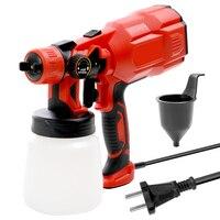 High Quality Multifunctional Electric Paint Spray Gun Machine Handheld Sprayer Sandblasting Adjustment airbrush compressor