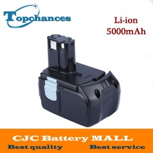 High Quality Power Tool Battery For Hitachi EBM1830 327730 BCL1815 DH18DL DS18DL DV18DL 18V 5000mAh Li