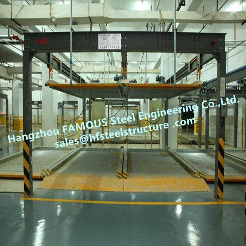 Vertikale Multi-stöckige Automatisierte Parkplatz Garage mit Smart Motor System Und Solide Stahl Struktur Rahmen China Lieferant