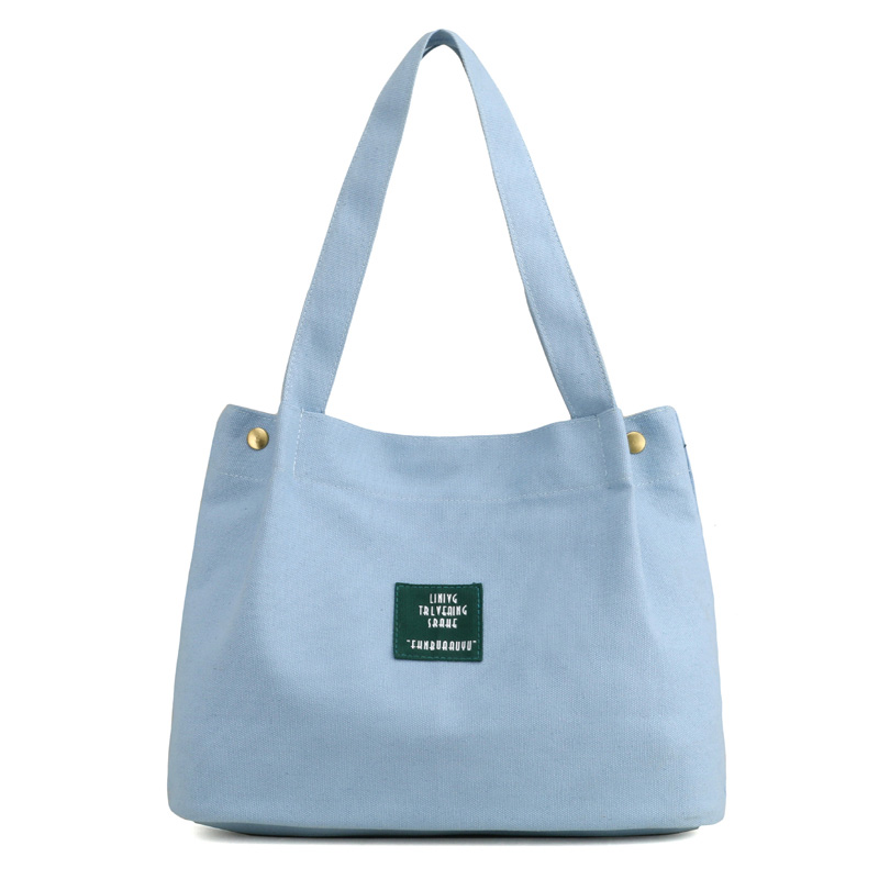 Woman Bucket Bag Retro Handbag Ladies Bags Canvas Beach Hand Bag Bolsa Feminina Sac A Main Tote Shopping Bag