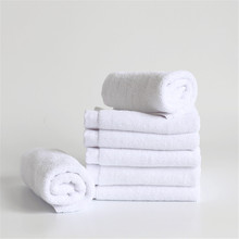 1PC New Soft 100% Cotton 25*25cm Hotel Bath Towel Washcloths Hand Towels Square Luxury Fiber House Cleaning Cloth