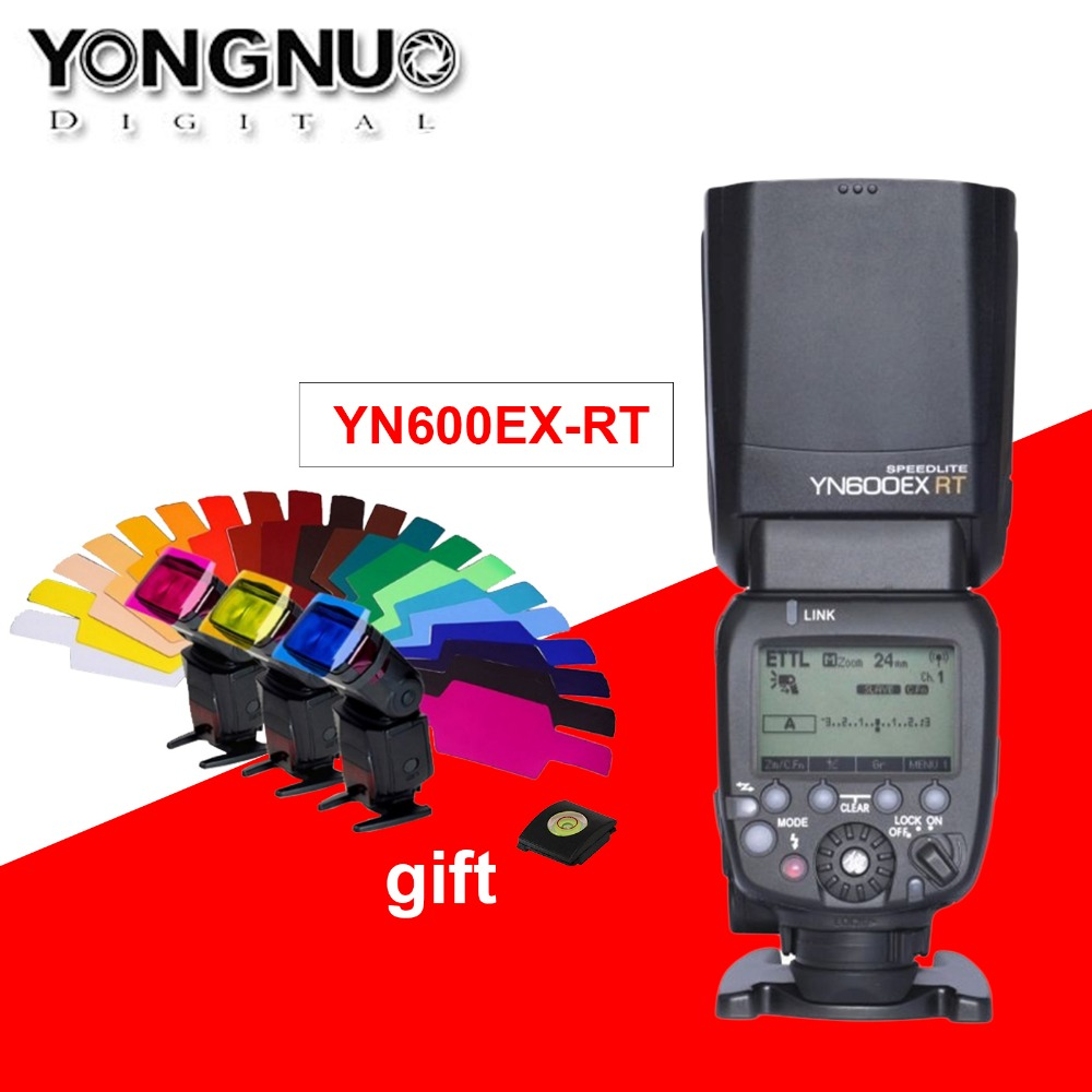 YONGNUO YN600EX-RT 2.4G Wireless HSS 1 / 8000s Master Flash Speedlite - Cámara y foto - foto 1