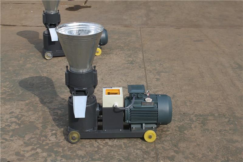 KL120B 2.2KW Single Phase Pellet Mill / Wood Pellet Machine