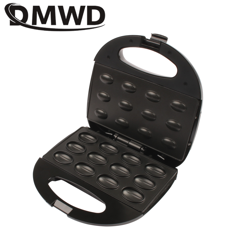 Electric Walnut Cake Waffle Maker With Green And Red Indicator Light To Make Bread And Sandwich 2