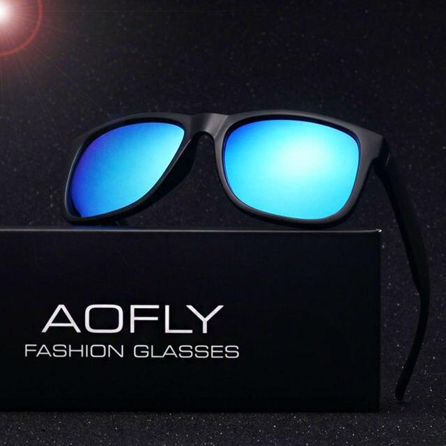Aofly brand new polarizaron las gafas de sol hombres moda tpe marco masculinas gafas gafas de sol oculos gafas de sol recorrido al aire libre af6106