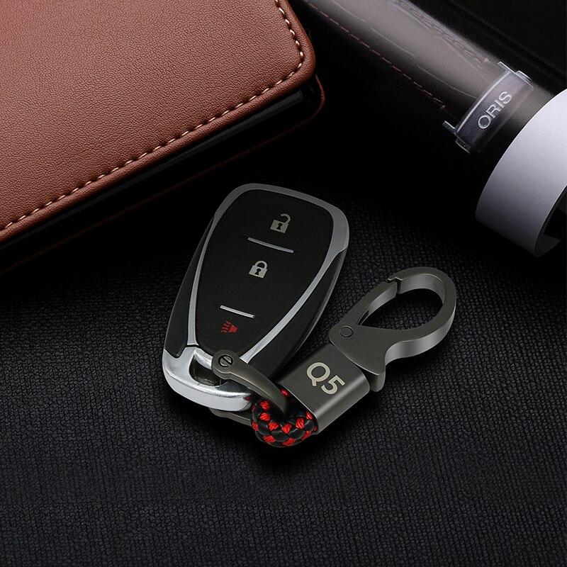 Эмблема автомобиля значок серый Geniue кожаный брелок кольцо для Audi A3 A4 A5 A6 Q5 Q3 брелок маленький подарок товар