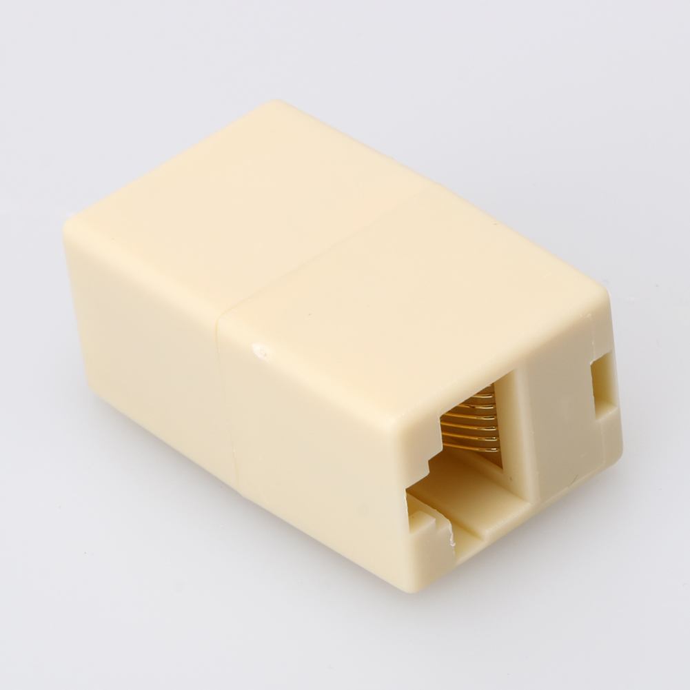 100Pcs/Lot High Quality Newtwork Ethernet Lan Cable Joiner Coupler Connector RJ45 CAT 5 5E Extender Plug Network Cable Connector