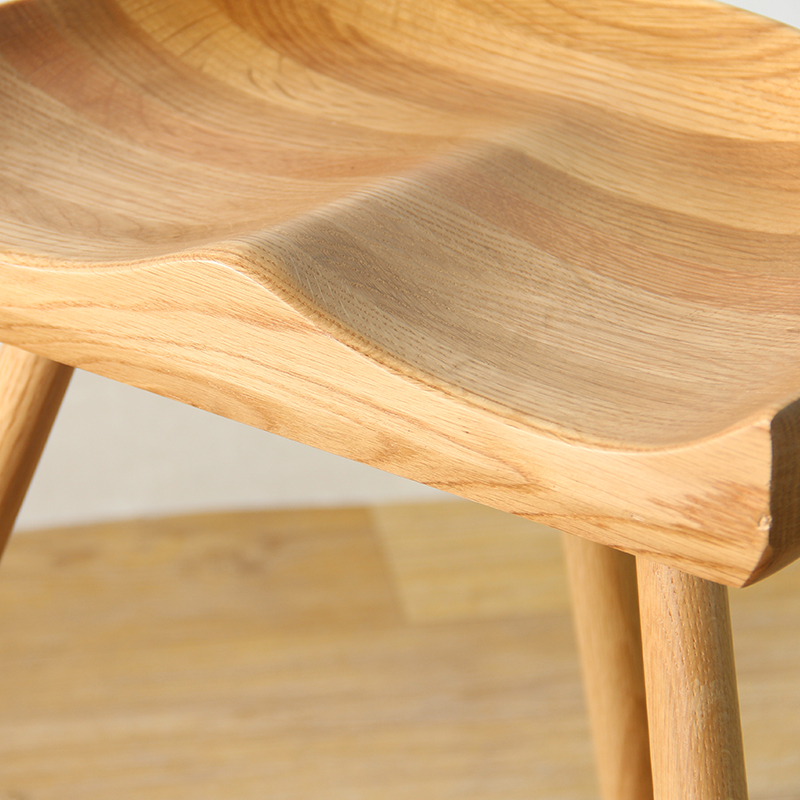White Oak Wood Saddle - Möbel - Foto 2