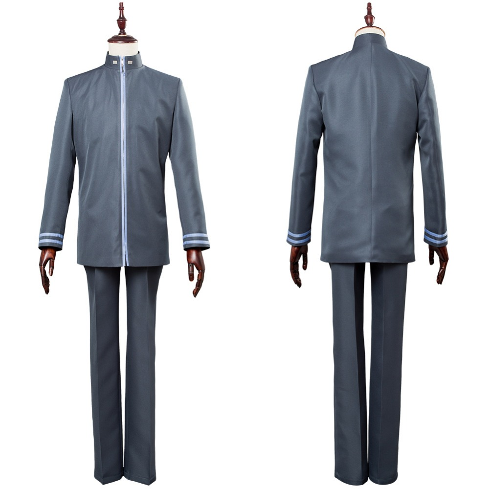 Invisible Victory Sousuke Sagara Cosplay Costume School Uniform Fine Workmanship Back To Search Resultsnovelty & Special Use Hearty Full Metal Panic