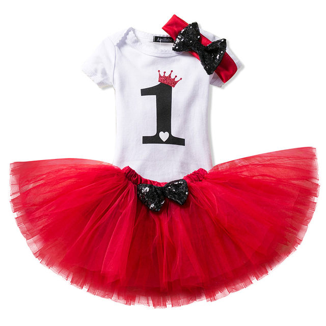 Online Shop My Little Girl 1st Birthday Sets 1 Year Baby Clothes