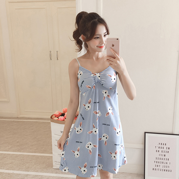 beb767d6f2d5 Product Offer. Летние женские длинные пижамы с героями мультфильмов, женская  ночная рубашка ...
