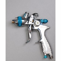 S887G Gravity Feed HVLP Paint Spray Gun Set With 1 4mm Nozzle 600ml Pot