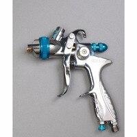 S887G Gravity Feed HVLP Paint Spray Gun Set With 1 4mm Nozzle 600ml Pot