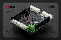 DFRobot smart цифровой сервопривод щит для Arduino V1.0, atmega8 12 В 7 каналов, совместимых с dynamixel AX/MX Серии сервоприводы