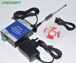 LPSECURITY SMS pilot Alarm System 2 DIN 2 DOUT RTU kontroler dla automatyki System monitorowania S130 controle alarme controller controlcontrol remote -