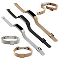 High Quality Gold Black Sliver Milanese Stainless Steel Watch Band Strap Bracelet For Fitbit Alta Tracker Watch Accessories