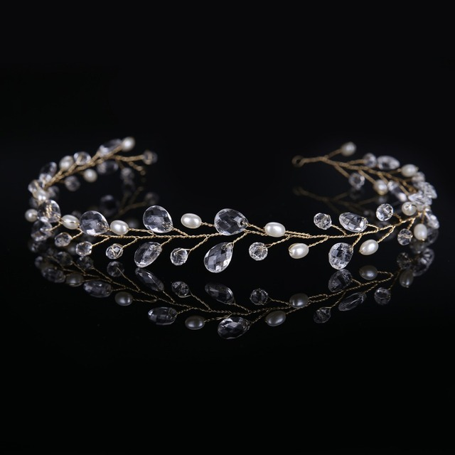 New silver hairbands wedding tiara wedding crown headbands bridal hair accessories head jewelry wedding hair accessories