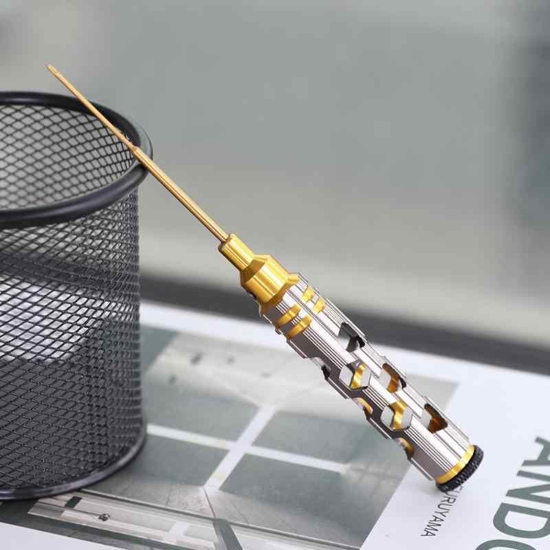 1pc 1.3 ミリメートル六角ドライバー先端ツール 10 センチメートル高速鋼六角ドライバーのための rc ヘリコプタードローン航空機モデル修理おもちゃ